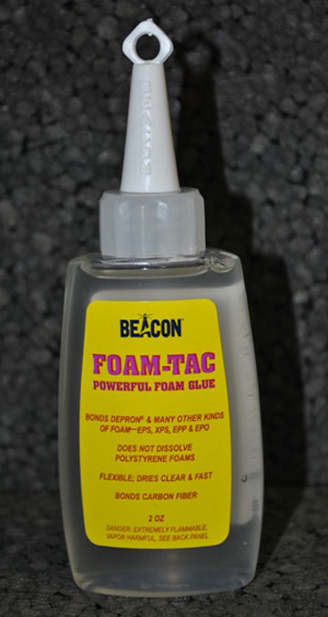 Beacon Foam-Tac Glue - 2 ounce bottle