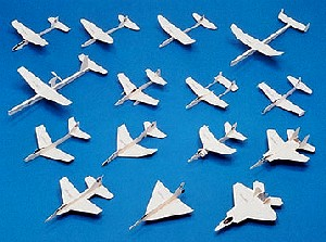 Whitewings History Of Jet Fighters 15 Models