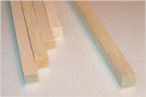 "BALSA SQUARE 9.5mm X 9.5mm X 915mm    (3/8"" x 3/8"" x 36""), 1 piece"
