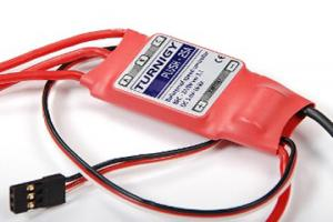 Brushless Speed Controller - TURNIGY Plush 25amp, SKU 81-031