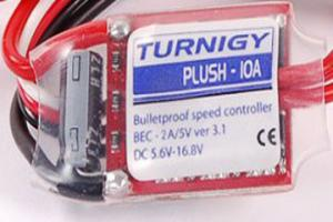 Brushless Speed Controller - TURNIGY Plush 10amp 9gram