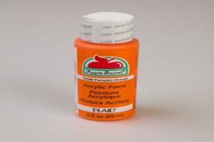 Apple Barrel Matte Pumpkin Orange Acrylic Paint (2 oz bottle)