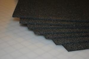 "6mm Black EPP (1.3#) 24""x36"",  Single Sheet"