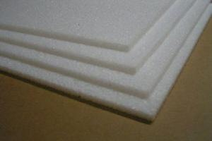 "6mm White EPP (1.3#) 18""x36"",  10 Sheets"