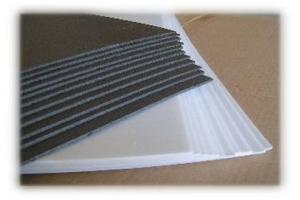 "2mm White Depron 10"" x 30"" Sheets (10 pieces)"