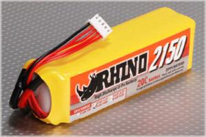Lipoly Battery Pack - Rhino 2150mAh 4S1P 20C