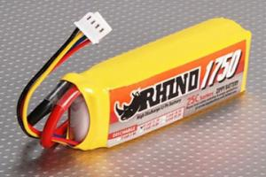 Lipoly Battery Pack - Rhino 1750mAh 3S1P 25C