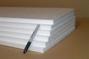 "EPS - 3/4"" Thick White Expanded Polystyrene"