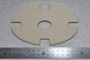Plywood Motor Mount (1 piece)