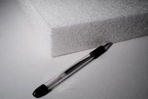 "4"" Thick White EPP (1.3#) 24""x36"", 1 sheet"