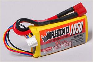 Lipoly Battery Pack - Rhino 1050mAh 3S1P 30C