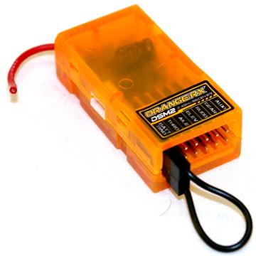 OrangeRx radio receiver - R615 Spektrum DSM2 Compatible Receiver
