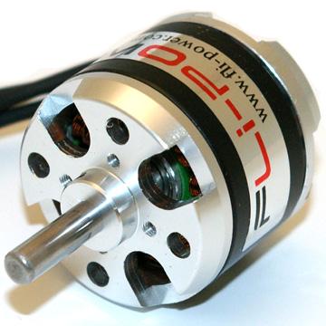 Fli power brushless motor 2808 1700kv for Model airplane motors electric