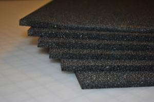 "9mm Black EPP (1.3#) 24""x36"",  6 Sheets"