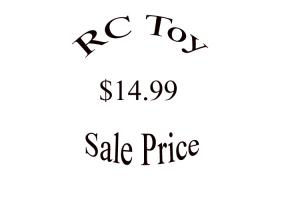 RC Toy - Sale Price