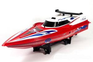 NQD Dolphin Boat Red