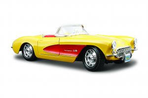 1957 Chevrolet Corvette, Yellow