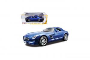 2011 Mercedes Benz SLS Gullwing AMG, Blue