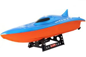 Double Horse Balaenoptera Musculus RC Racing Boat Blue
