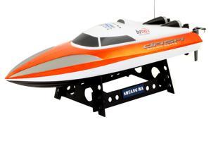 Double Horse Banox Dash Racing Boat, Orange Orange