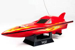 Mini High Speed Mosquito Boat Red