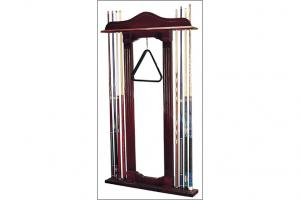 billiard cue rack