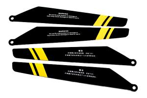 Main Rotor Blade A & B, Yellow for Double Horse 9101
