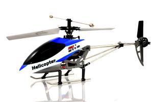 9116 Big Metal Gyro Remote Control Helicopter, Blue