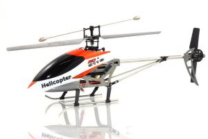9116 Big Metal Gyro Remote Control Helicopter, Orange