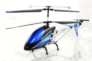 9118 Metal Gyro Helicopter, Blue