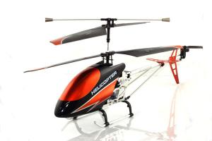 9118 Metal Gyro Helicopter, Orange