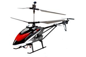 S31 Jumbo Metal Gyro RC Helicopter, Black