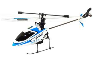 V911 4Ch Mini Gyro RC Helicopter, Blue