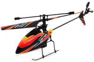 V911 4Ch Mini Gyro Helicopter Orange