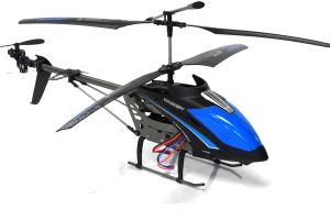 LT-713 Hawkspy Helicopter with Spy Camera, Blue