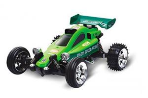 Savage Buggy Mini RC Kart Racer, Green