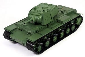 Heng Long Russian KV-1 (Kliment Voroshilov) Ehkranami RC Battle Tank