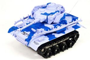 Amphibious Panzer RC Battle Tank, Blue