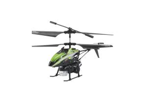 V757 3Ch Bubble Gyro RC Helicopter, Green