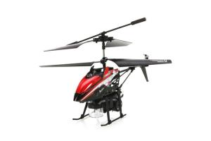 V757 3Ch Bubble Gyro RC Helicopter, Red