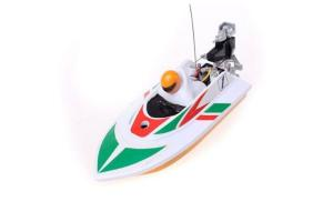 Mini Micro RC Speed Boat White