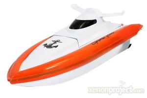 RC Racing Speed Boat, Orange