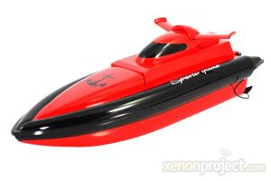 RC Racing Speed Boat, Red