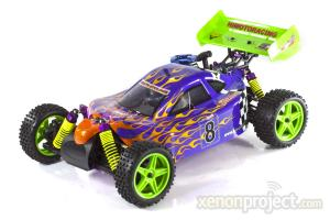 Himoto Syclone RC Nitro Buggy Purple