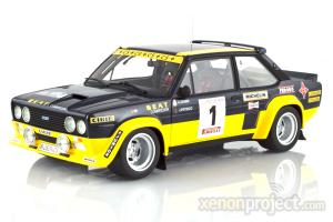1979 Fiat 131 Abarth Rally Costa Brava #1