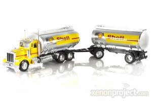 2007 Shell Double Tank Peterbilt 379