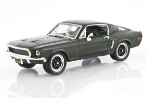 1968 Steve McQueen Bullit Mustang, Green