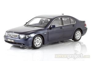 2002 BMW 745i, Blue