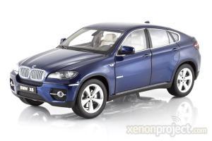 2011 BMW X6, Blue