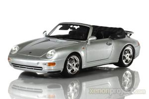 1994 Porsche 911 Carrera Cabriolet, Silver
